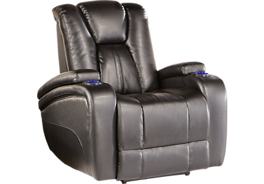 Image of a recliner with functionality to help aid those who struggle with walking.